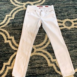 Banana republic white skinny jeans